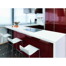 white solid surface countertops
